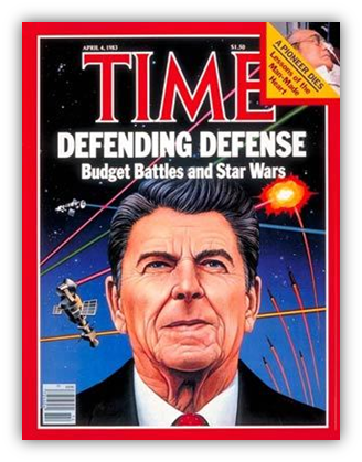 a look at president reagans strategic defense initiative Peter kramer tells how the popularity of the sci-fi epic proved timely for ronald reagan and the strategic defense initiative.